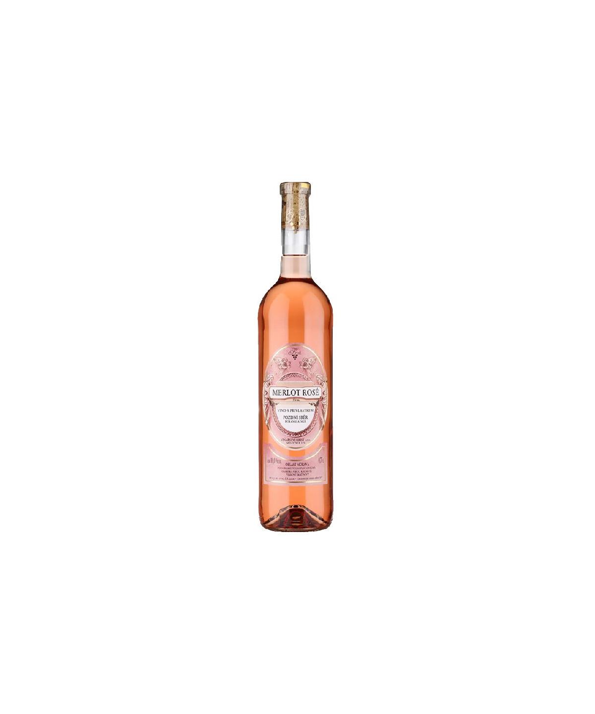 Merlot rosé - pozdní sběr