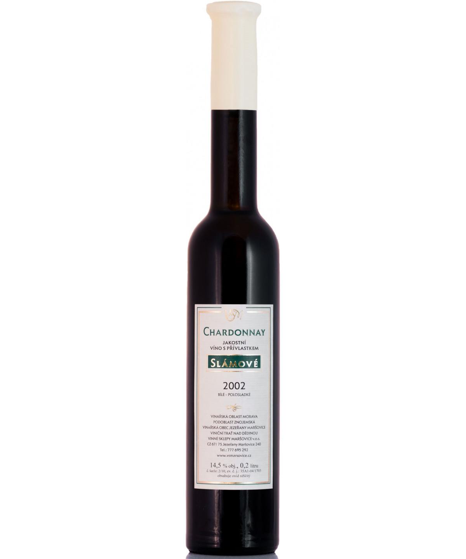 Chardonnay - slámové - 0,2 l
