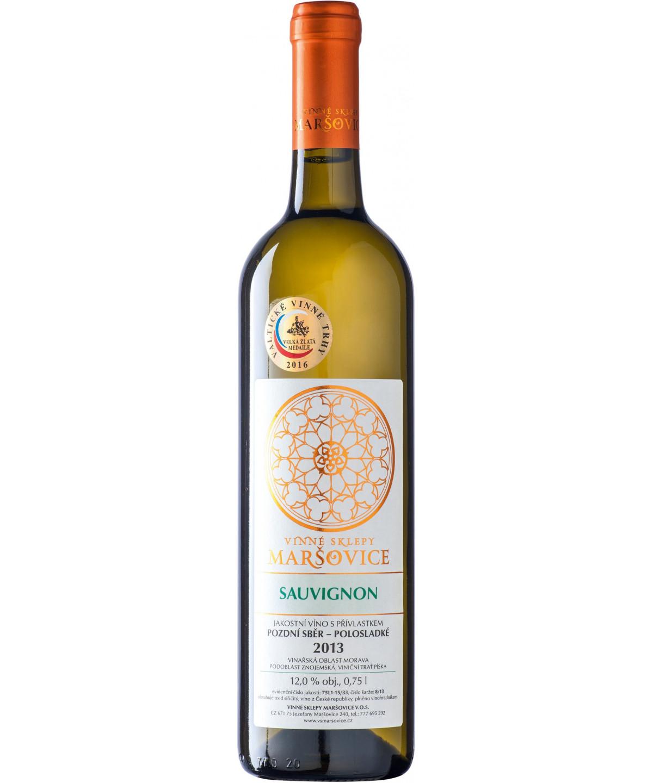 Sauvignon - výběr z cibéb - 0,5 l