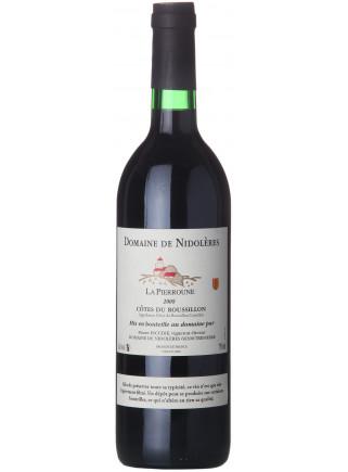 Domaine de Nidoleres - La Pierroune - AOC Côtes du Roussillon