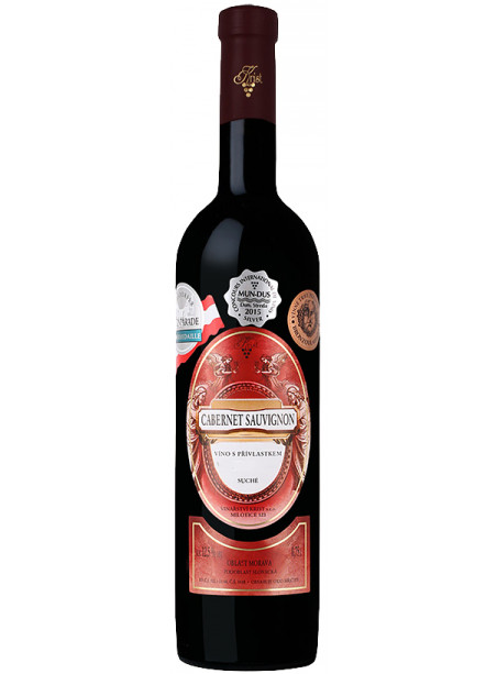 Cabernet Sauvignon - výběr z hroznů