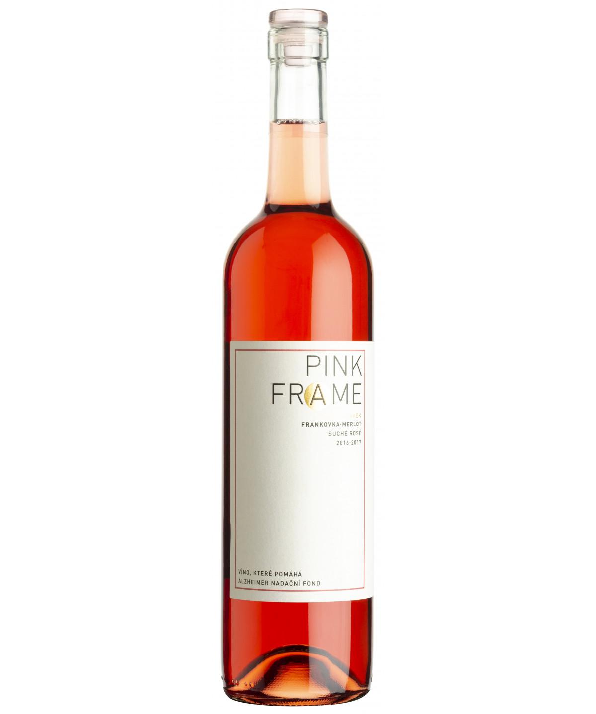Pink Frame (Merlot + Frankovka) - Alzheimer Rosé