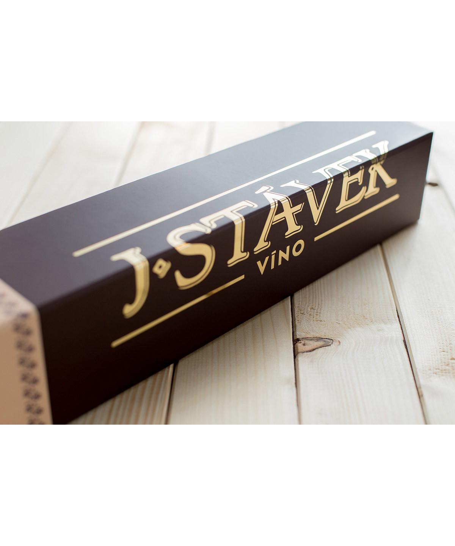 STÁVEK - Dárková krabička na 1 láhev