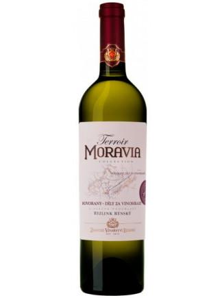 Terroir - Ryzlink rýnský - pozdní sběr - Hovorany, Díly za vinohrady