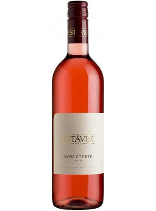 Rosé Čtvrté - pozdní sběr