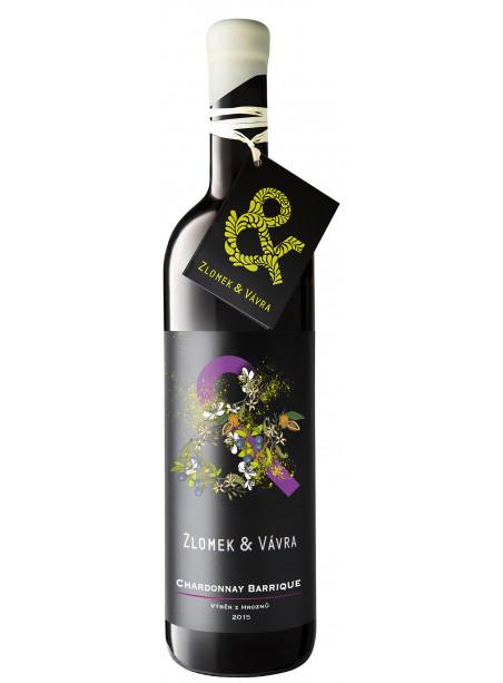 Chardonnay - pozdní sběr - barrique