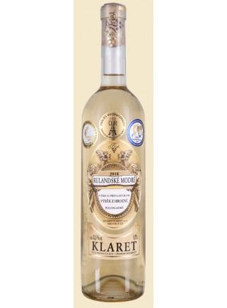 Rulandské modré - Klaret - výběr z hroznů