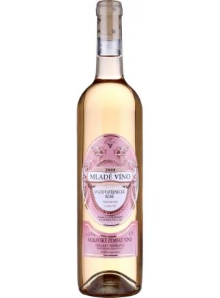 Mladé víno - Svatovavřinecké rosé