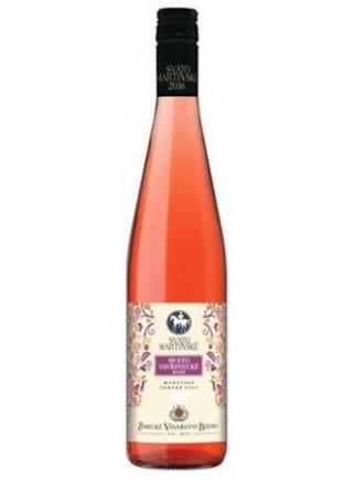 Svatomartinské - Svatovavřinecké rosé
