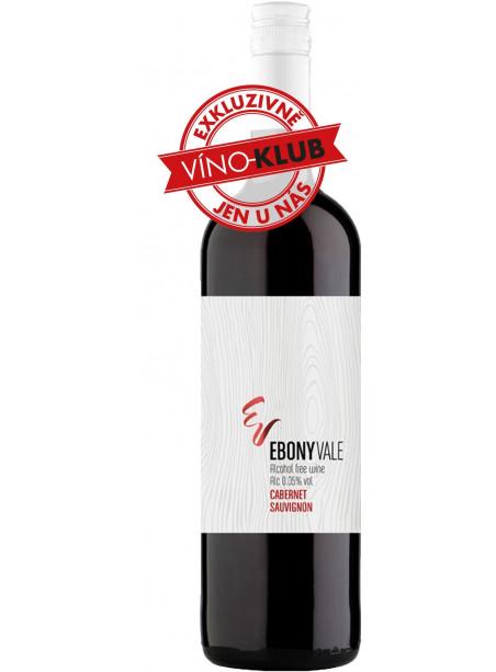 Ebony Vale - Cabernet Sauvignon - nealkoholické víno