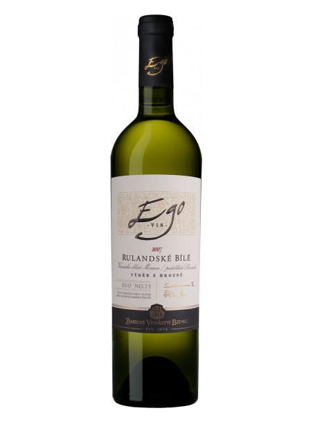 EGO No. 75 - Rulandské bílé - pozdní sběr