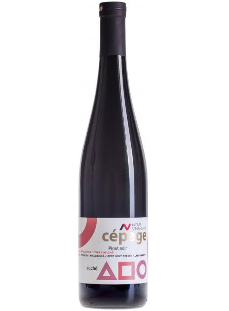 Cépage - Pinot Noir - výběr z hroznů  - Langewarte