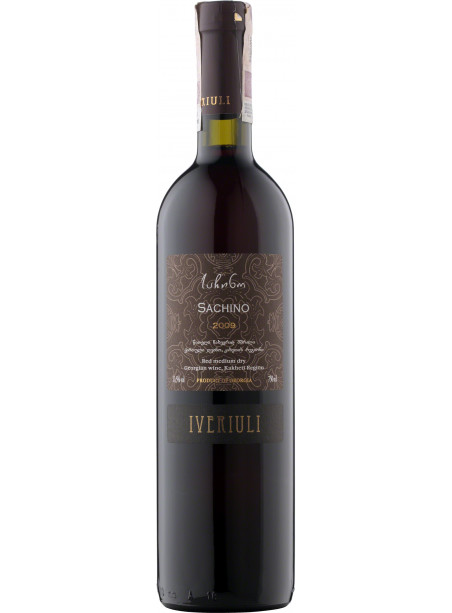 Tbilvino - Iveriuli - Sachino Red