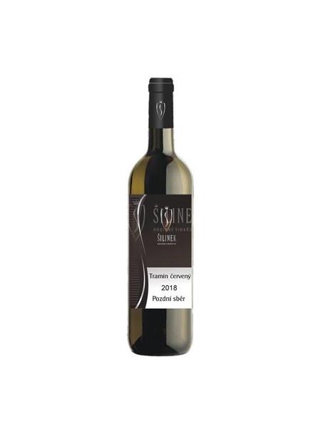 Tramín červený - oranžové víno - pozdní sběr