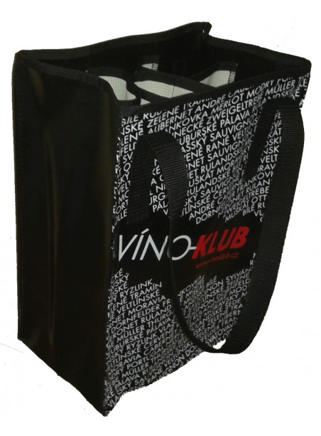 VÍNO-KLUB - taška na 6 lahví
