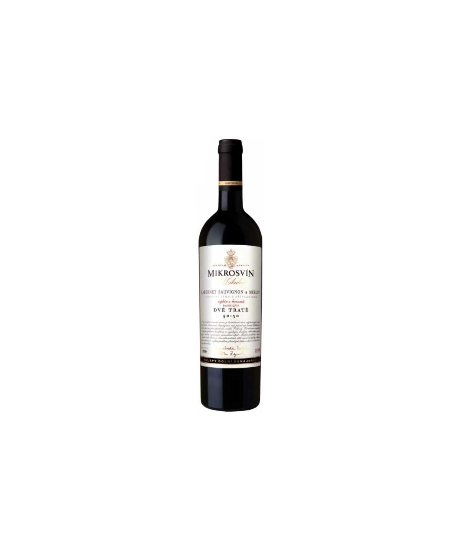 Traditional Line - Cabernet Sauvignon/Merlot - výběr z hroznů - Dvě tratě, barrique