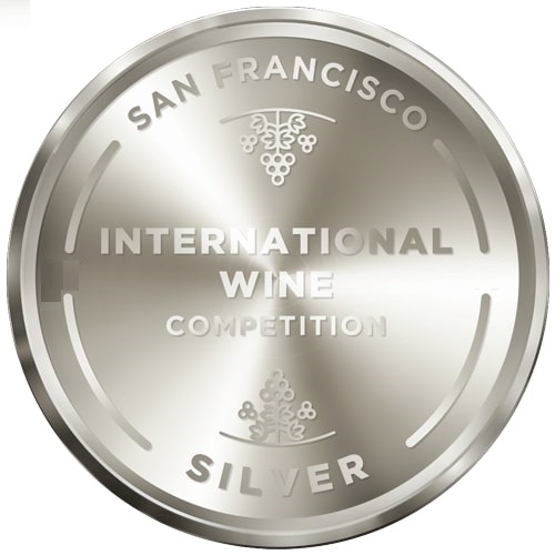 International Wine Competition - San Francisco - stříbrná